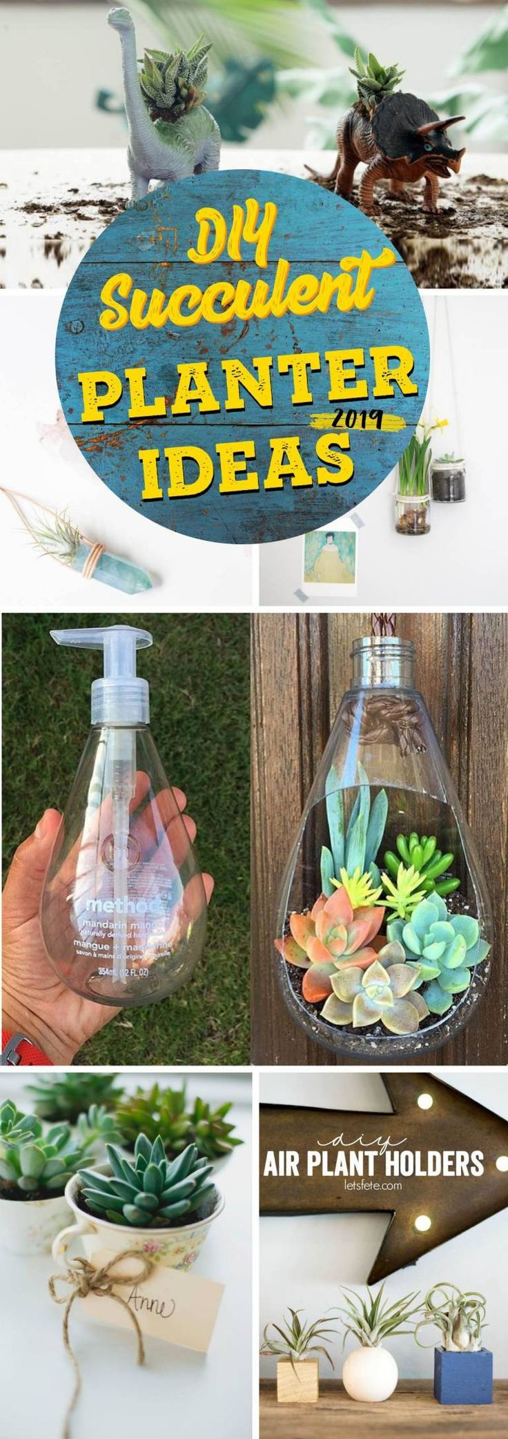 19 DIY Succulent Planter Ideas that Are So Cool You Wont Want to Miss!