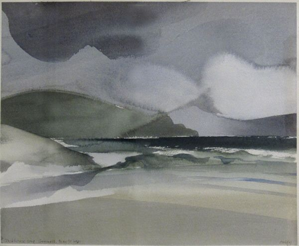 Artist: Toni Onley, Title: Stackhouse Cove, Cornwall - click to close window