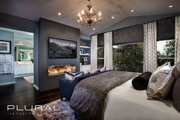 Modern Master Bedroom Design Ideas, Pictures, Remodel, and Decor - page 6