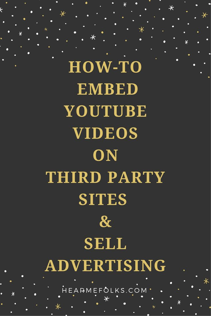 The best way to make money is to embed YouTube videos on your blog or any third-party website and sell advertisements. Know more about how to employ this technique here: http://hearmefolks.com/embed-youtube-videos