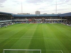 "Loftus Road - the green green grass of home. ""This is our cave and we love it."" Ian Holloway QPR player & manager."