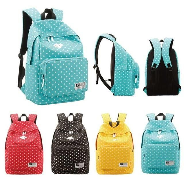 Unisex Lightweight Casual School Backpack