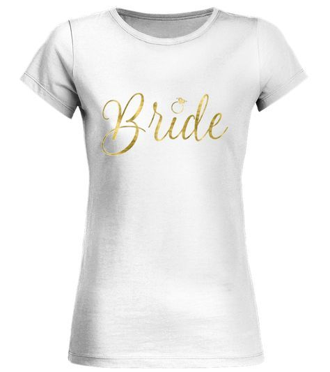 CHECK OUT OTHER AWESOME DESIGNS HERE! Bachelorette party shirts with gold foil imitation (faux, printed as an image) Bride Squad calligraphy text and ring. Available in women sizes, from small to extra large and in two colors, black and white. These shirts are perfect for Bachelorette party or Bridal shower as a gift or just a fun shirt for any other occasion. GOLD, FOIL, IMITATION, FAUX, bachelorette party shirts, bachelorette party stuff, bride shirts, bride shirt, bachelorette pa...