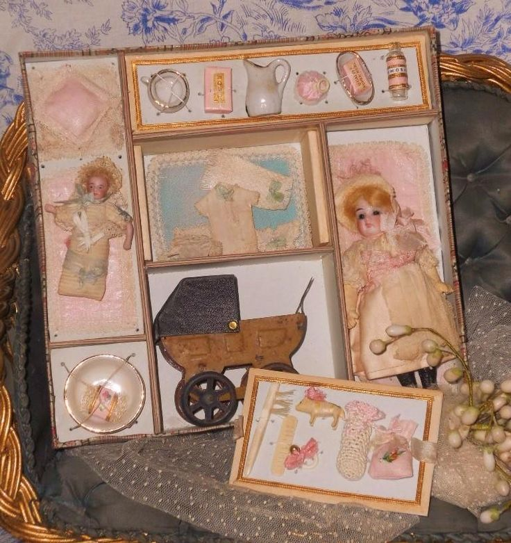 """~~~ Lovely French """" Trousseau Nourrice """" in Original Box ~~~ from whendreamscometrue on Ruby Lane"""