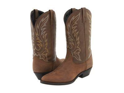 Laredo - Kadi (Tan Distressed) Cowboy Boots
