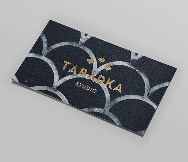 Tabarka Studio designed by Anagrama -- gorgeous card
