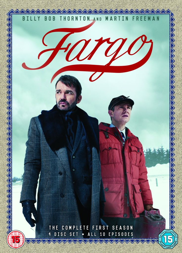 "Fargo - Season 1 (2014) based on the film by the Coen Brothers, starring Billy Bob Thornton, Martin Freeman, Allison Tolman and Colin Hanks. ""A drifter named Lorne Malvo arrives in small-town Minnesota and influences the population with his malice and violence, including put-upon insurance salesman Lester Nygaard."""