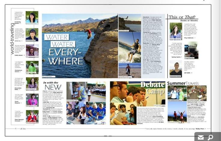 Best 25+ Yearbook Layouts Ideas ...
