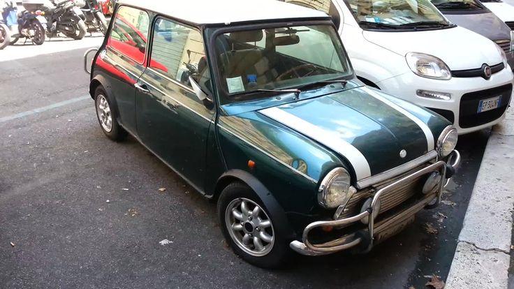 Old Mini Cooper exterior details