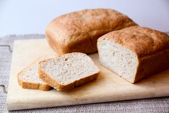 Homemade Whole Wheat Bread...from your Food Processor!