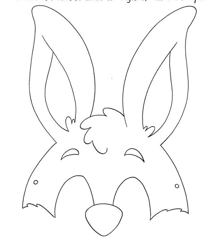 mascara coelho pascoa eva - Pesquisa Google