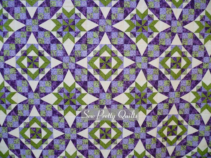 Sew Pretty Quilts | My Celtic Solstice Quilt, Designed by Bonnie Hunter
