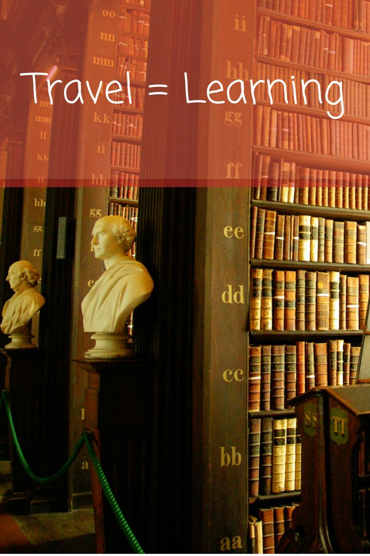 Travel = Learning
