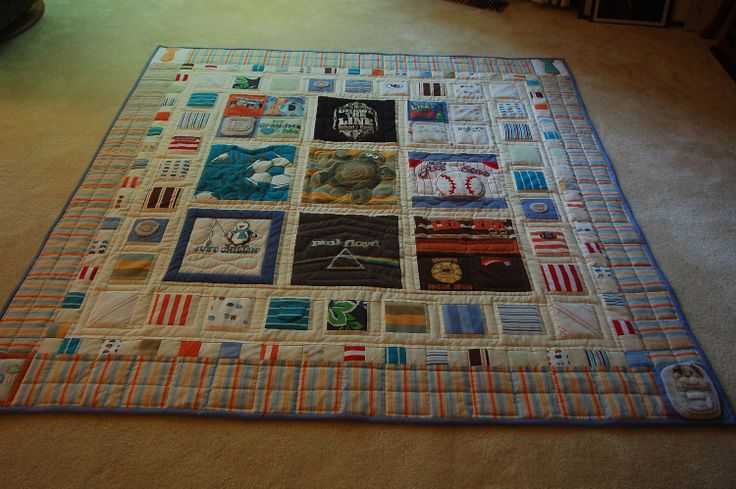 I will make memory quilts out of the kids' baby clothes...I will. Or I'll hire someone more talented to do it?