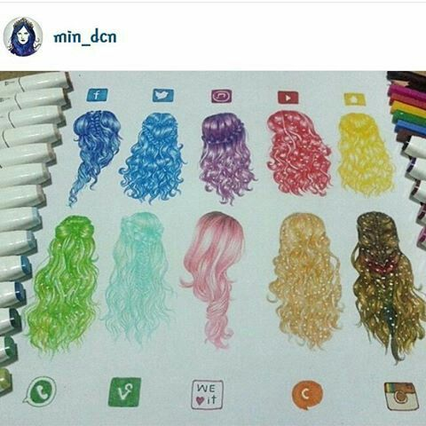 Social Media Hairstyles
