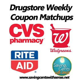 Weekly coupon matchups from each weeks store ad s including cvs