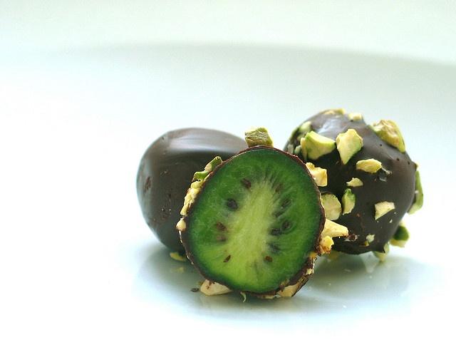 Chocolate and Pistachio Kiwiberries