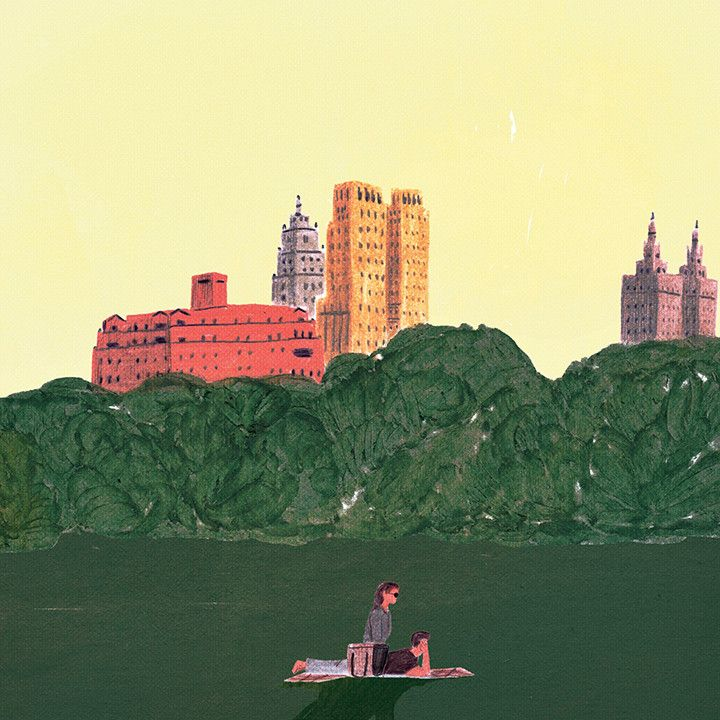 Central Park, New York | Illustration | 일러스트 | Chungwoon Choi | 청운