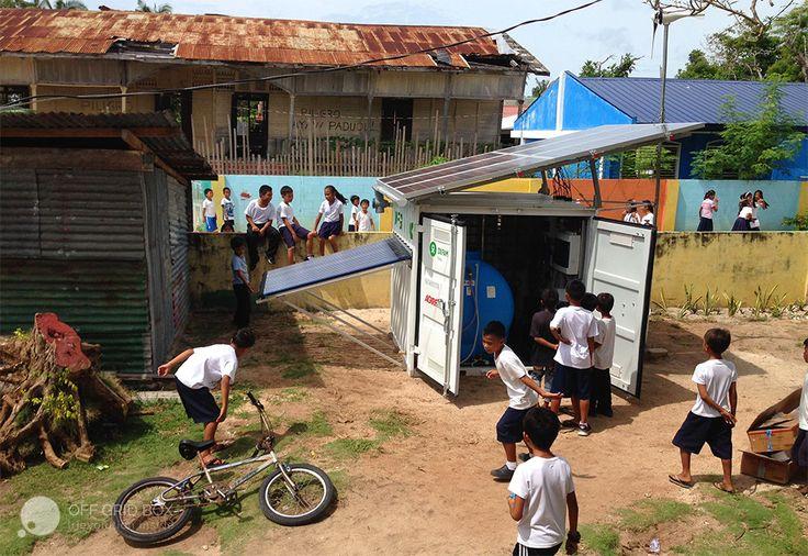 Off Grid Box in Philippines La Fabbrica del Sole + Oxfam Italia