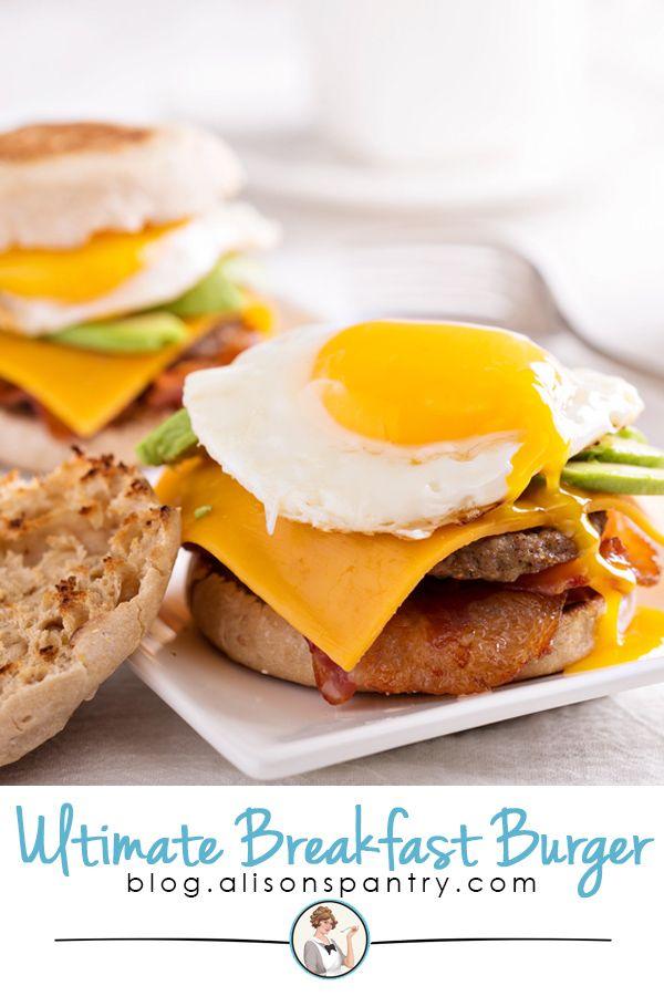 Ultimate Breakfast Burger Ultimate Breakfast Breakfast Burger Breakfast Ingredients