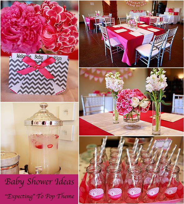 Baby Shower Themes Colors ~ Expecting to pop baby shower theme themes