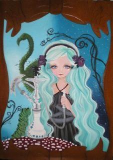 'Alice in wonderland' Serena Solange Carluccio | The ArtZine