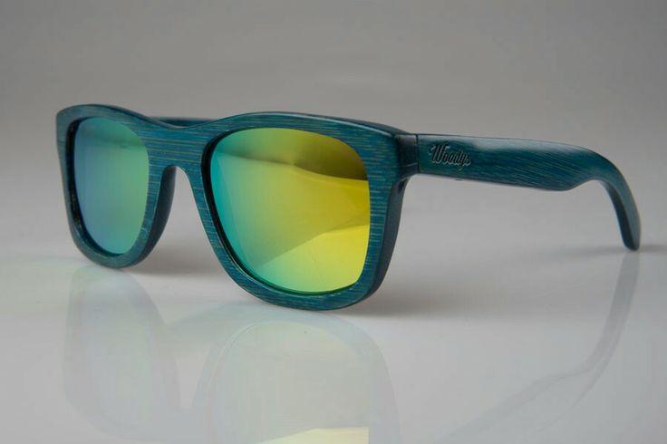 Gafas de madera Woodys barcelona wood sunglsses