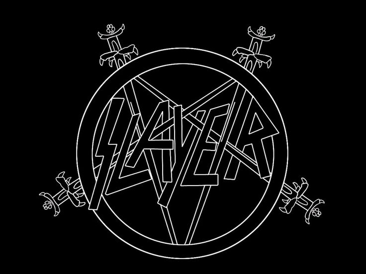 The logos of the hardest metal bands might not be subtle, but they are well-executed.