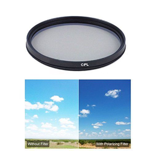 Introducing Sony Alpha DSLRSLTA65 Compatible Digital MultiCoated Circular Polarizer Filter CPL  55mm. Great Product and follow us to get more updates!
