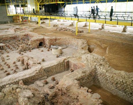 Thermenmuseum Heerlen in Zuid-Limburg, Romeins en archeologisch museum.   Bezoek…