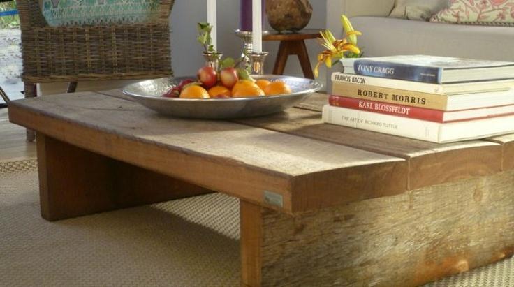 Table basse design en bois exotique bois d azob massif thors design da - Table basse en bois exotique ...