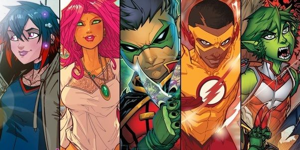 Who are some superheroes and/or characters in the DC world who are ...