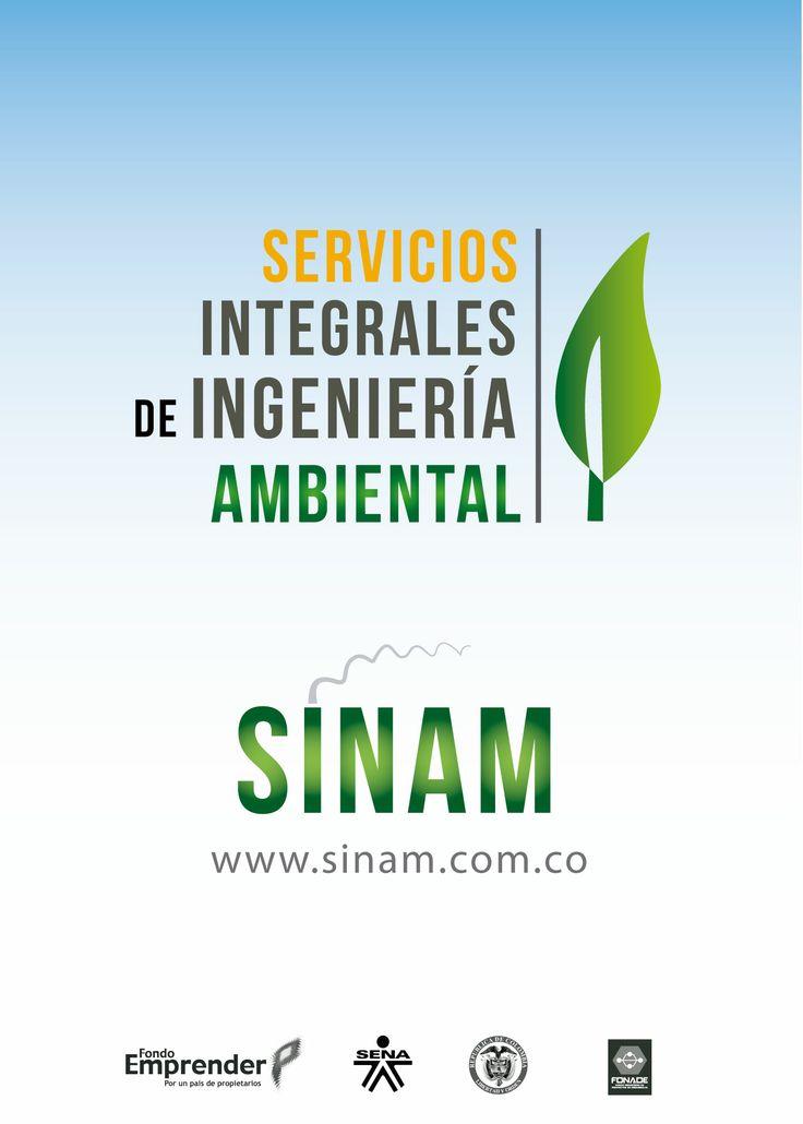 Diseño de pendón empresa sinam