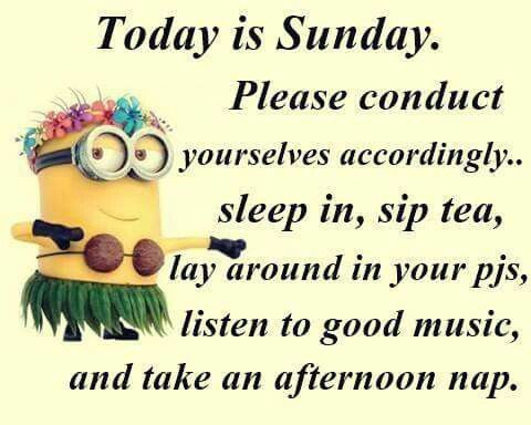 Today is Sunday