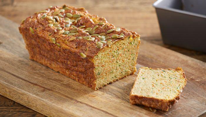 Paleo Veggie Bread via @iquitsugar