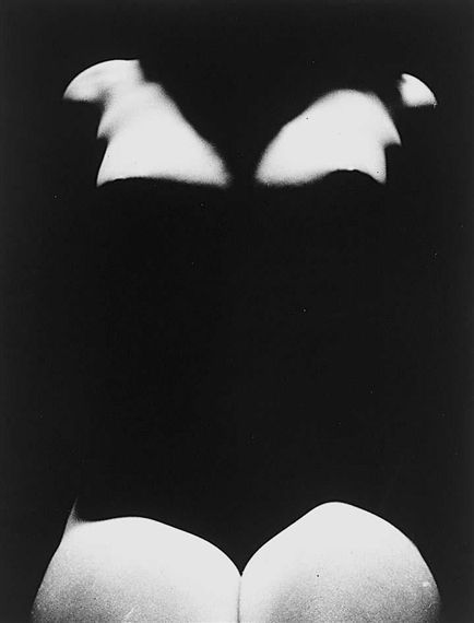Erwin Blumenfeld (1897–1969) Untitled, [Nude with Shadows], 1950