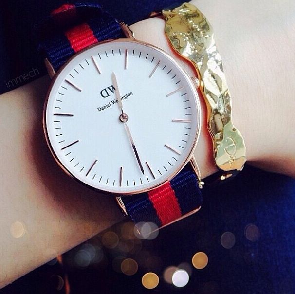 A great shot of the Classic Oxford. Thanks to Daniel Wellington fan Mechelle for sharing this with us on Instagram!