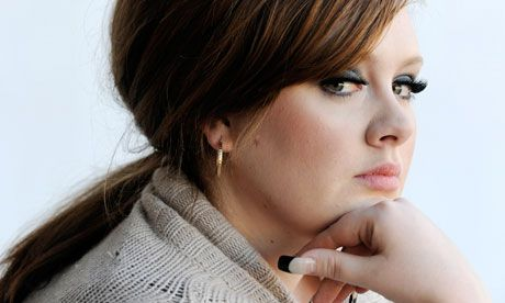 Adele, I absolutely LOVE her voice!