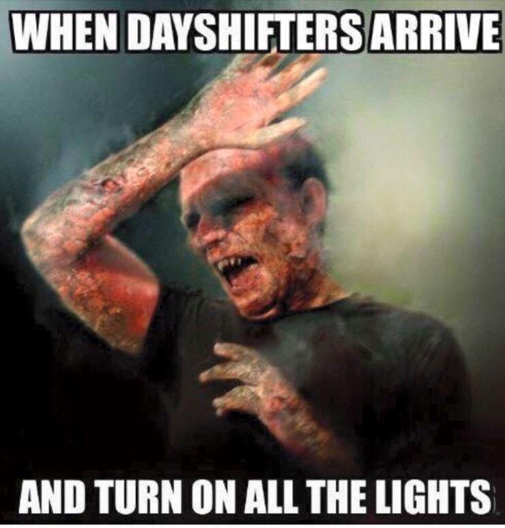 Nursing Memes: Who turned on the lights…