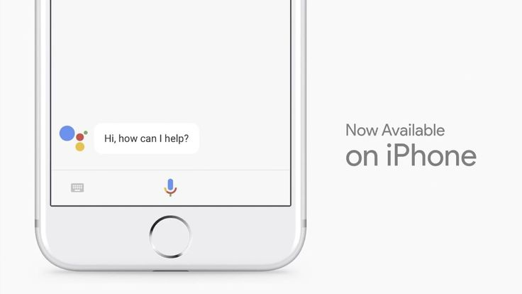 Google Assistant is coming to the iPhone