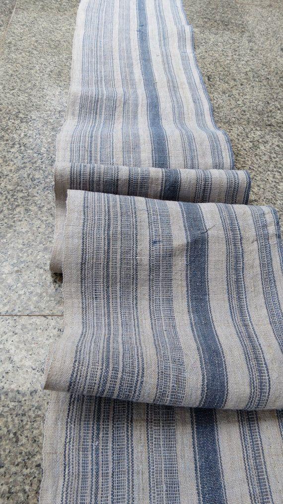 Hmong  hemp Vintage fabrics and  textiles  Handwoven by dellshop, $44.99