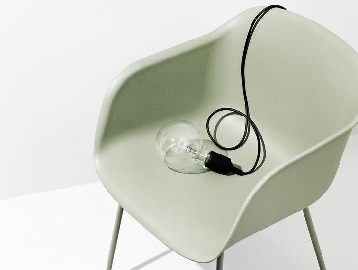 Black E27 Pendant Light by Muuto
