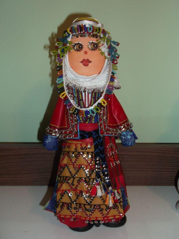 Antalya gelini,yöresel taş bebek