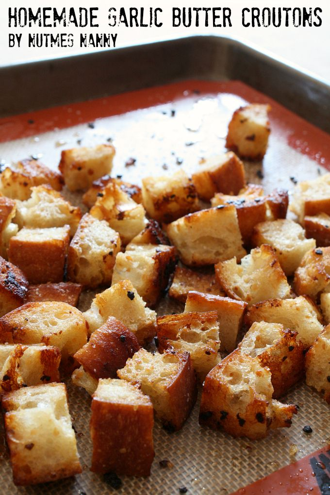 croutons own croutons is hands down your own croutons to perk garlic ...