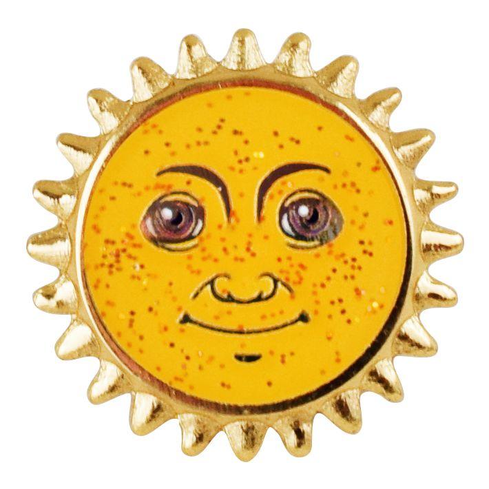 Sun Emoji Pin