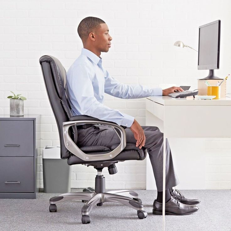 Executive High Back Office Chair Swivel Seat Computer Desk Home Ergonomic Gaming #ExecutiveHighBack