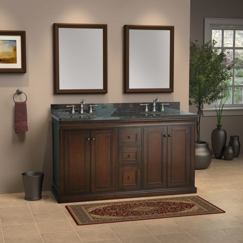Fancy 60 Double Sink Vanity 546839 Home Design Ideas Vanities Pinterest Traditional