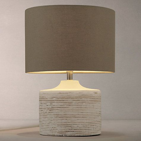 Buy John Lewis Ira Ribbed Wooden Table Lamp Online at johnlewis.com