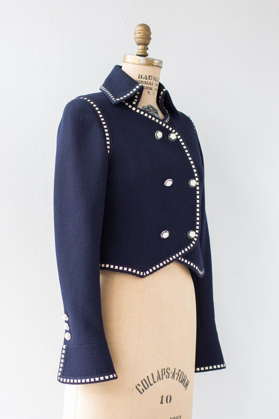 1990s Couture Chanel Boutique Blazer - Millay Vintage