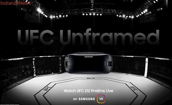 UFC 212 to Live Stream in VR For Samsung Gear VR Users